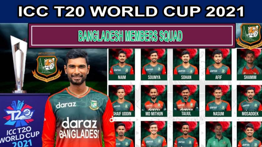 Bangladesh Team for ICC T20 World Cup 2021 Players List