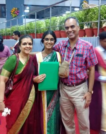Vidya parents