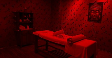 Massage Room Red Bed Romantic  - Engin_Akyurt / Pixabay