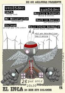 DATA - Mr Moustache - Unless - Martin & Dubois - Back to Basics - Hair Color Anomaly