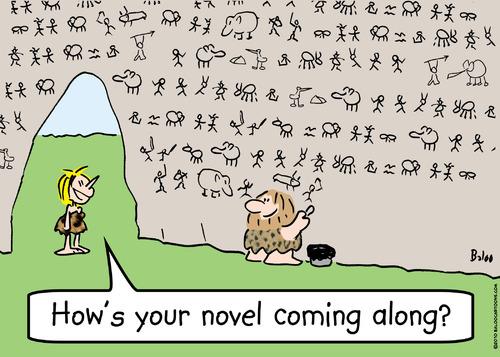 De eerste roman?