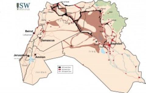 Het territorium van Daesh