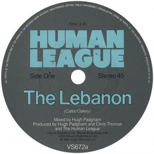 The Lebanon single