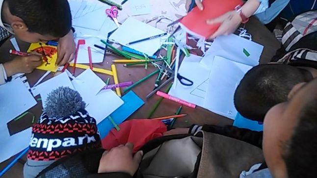 بالصور: معرض الكتاب.. حيث يجد الأطفال متنفسهم لإبراز قدراتهم الإبداعية