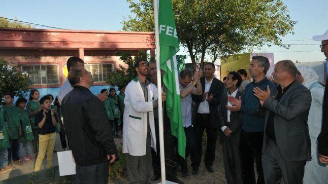 سيدي قاسم : مجموعة مدارس البعابشة الرمل تحتفل بحصولها على شارة اللواء الأخضر
