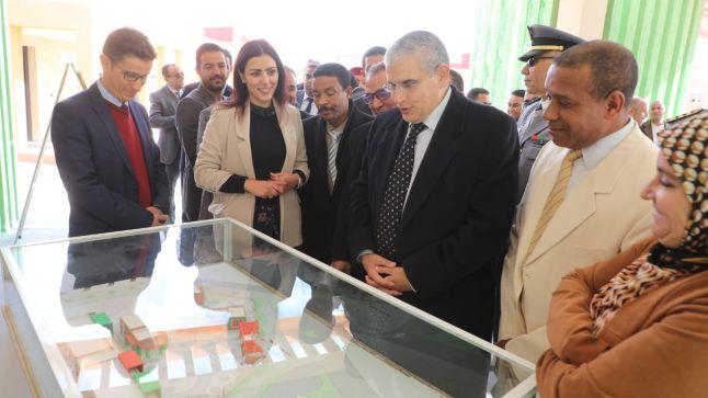 عامل إقليم ورزازات يشرف على تدشين وإعطاء انطلاقة مشاريع تنموية تقدر بحوالي 50 مليون درهم..