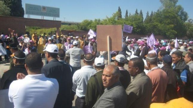 النقابات التعليمية بإقليم مراكش تستنكر إجهاز النيابة على أي مقاربة للحوار والتشارك