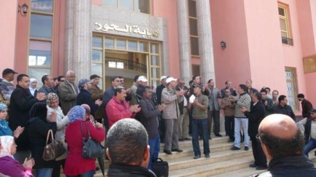 النقابات التعليمية الخمس بإقليم الحوز تعلن مقاطعتها للقاءات الصورية مع النيابة الإقليمية