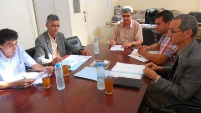 الناظور: اجتماع اللجنة الثلاثية الإقليمية للصحة المدرسية