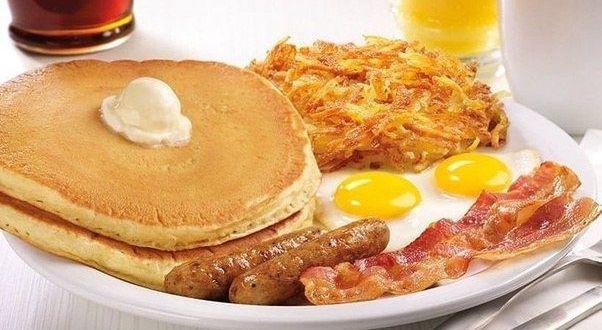 طعام فطور أمريكي مشهور