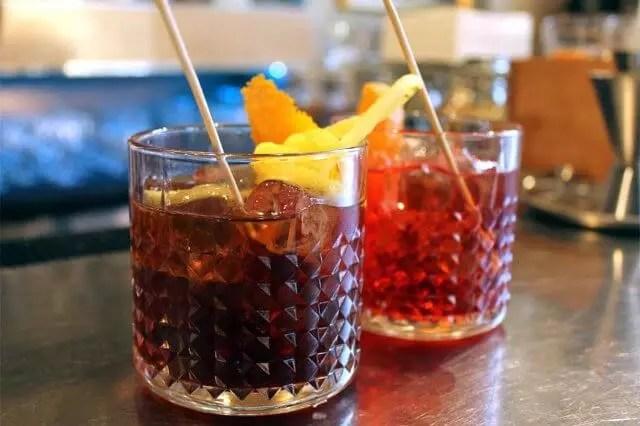 cocktail milano catania e negroni classico