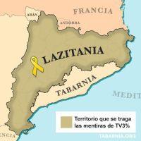 Después de Tabarnia llega: LAZITANIA (o Lazilandia en castellano)