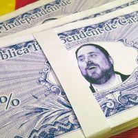 Los primeros billetes de la República Catalana ya están aquí