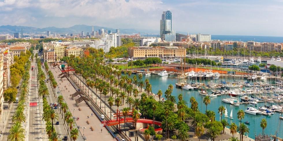 バルセロナ 海沿い