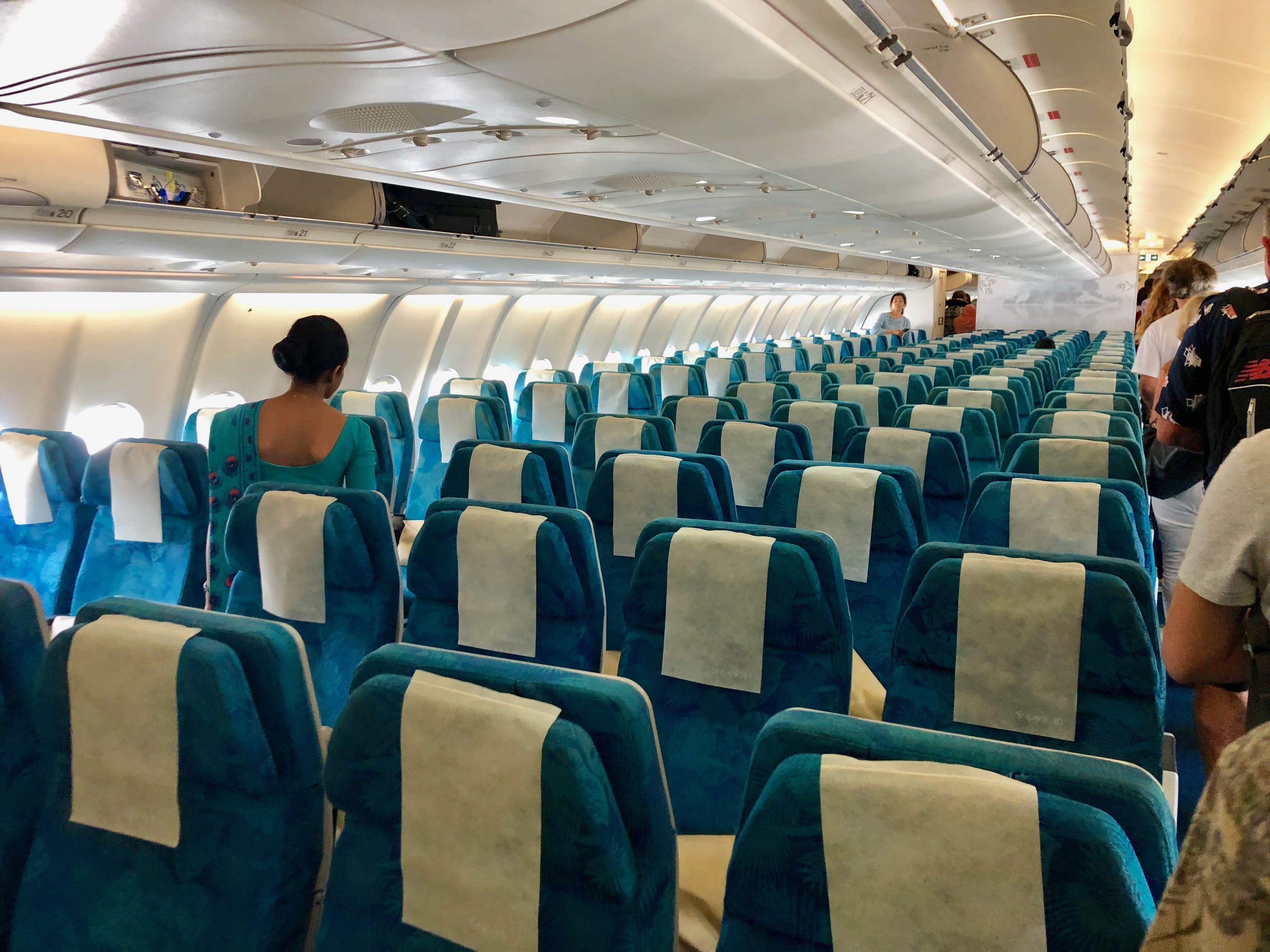 スリランカ航空 以遠 座席