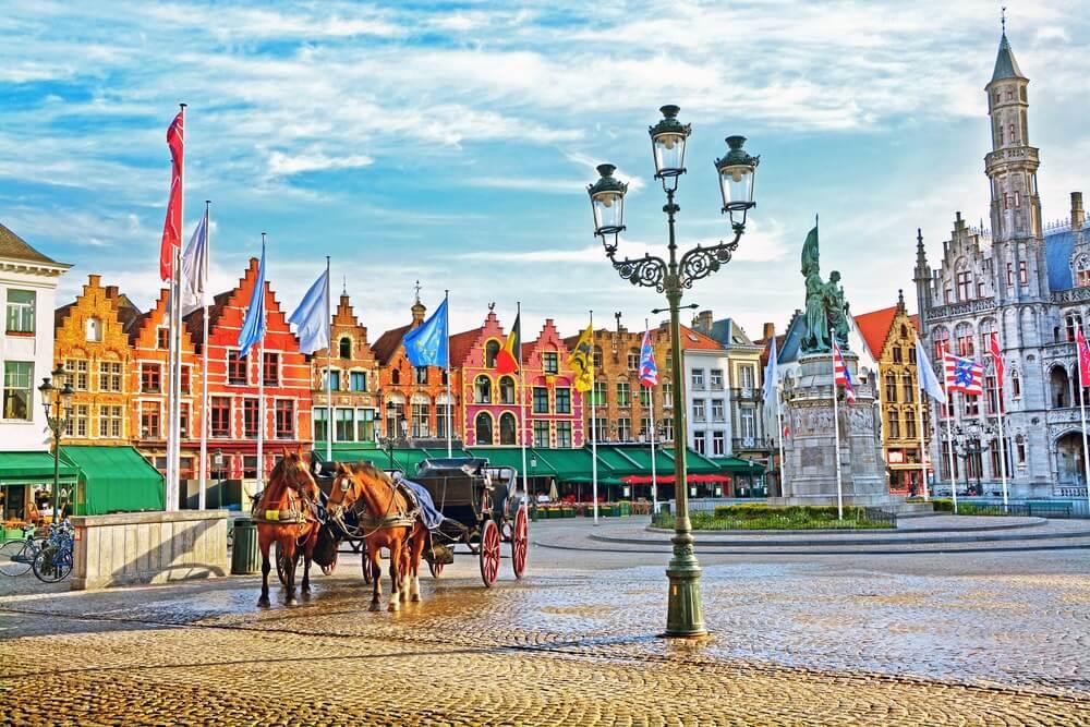 ベルギー ブルージュ歴史地区