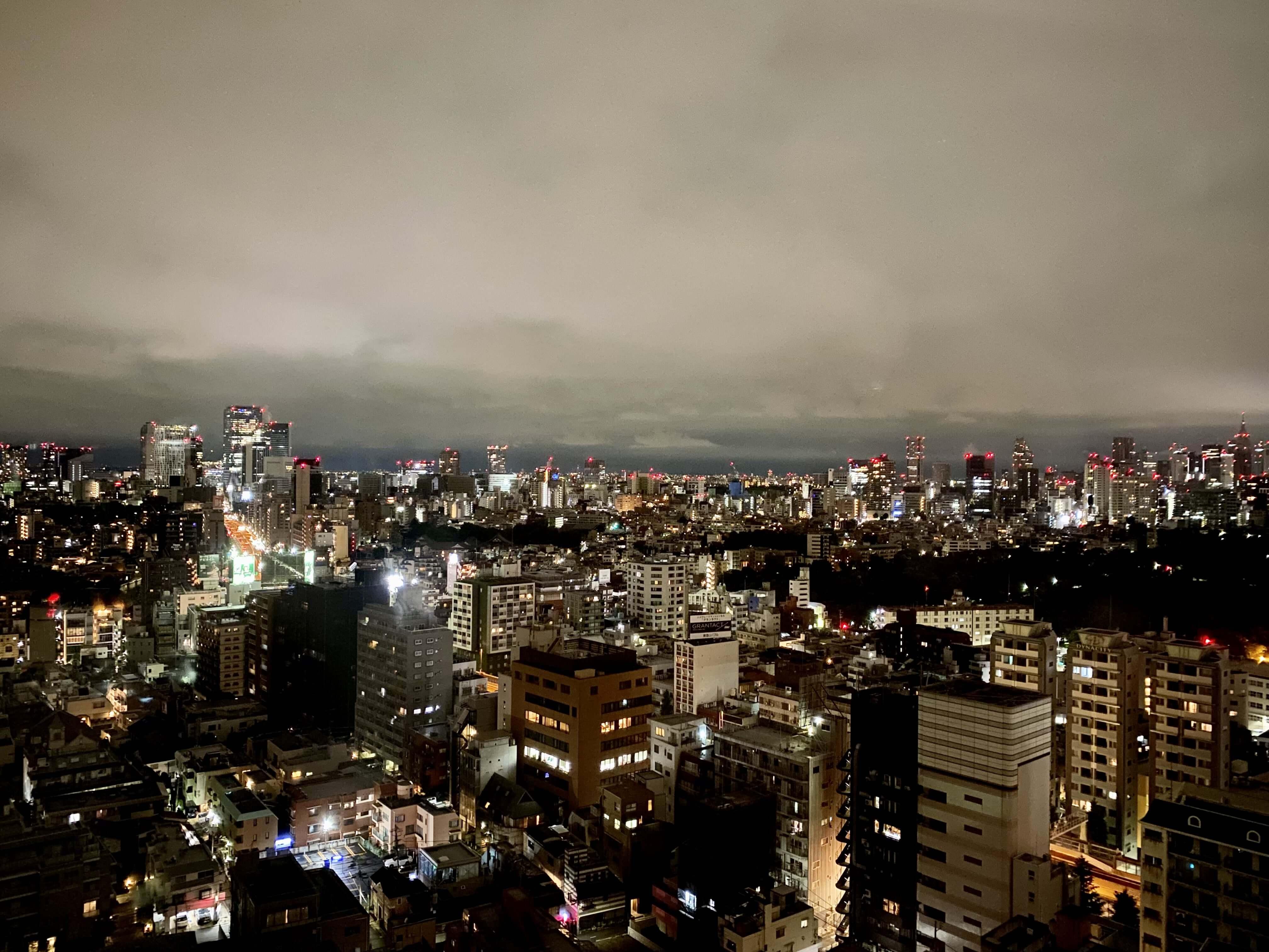夜景/グランドハイアット東京