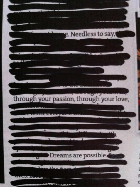 Needless to say, through your passion, through your love, Dreams are possible