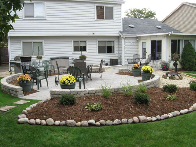 Concrete Driveways & Stamped Concrete Driveways Cost ... on Backyard Concrete Patio Designs  id=86142