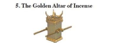 golden altar incense
