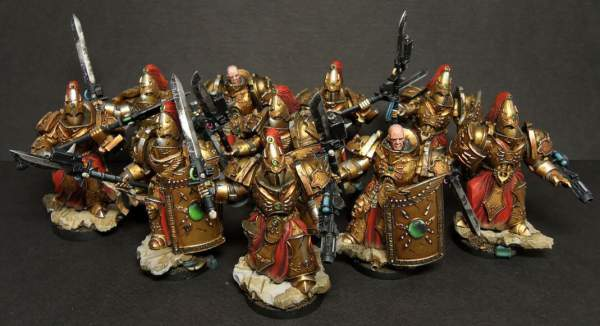 Adeptus Custodes - guardias
