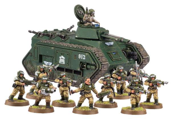 Guardia imperial - Cadia
