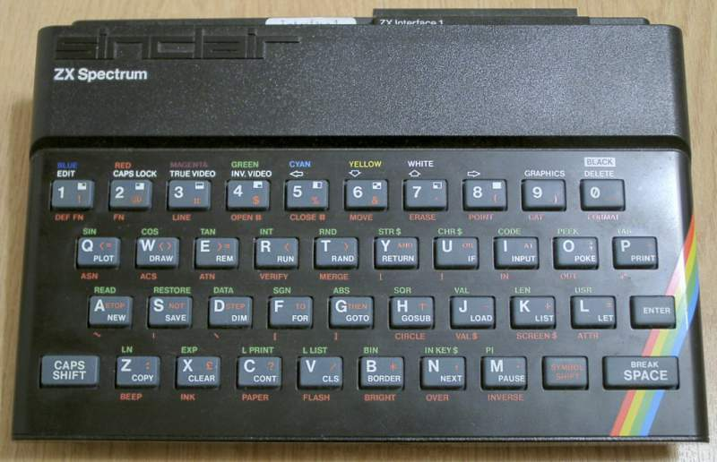 X Spectrum 48k