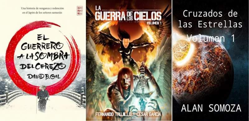 Tres libros autopublicados para jugones