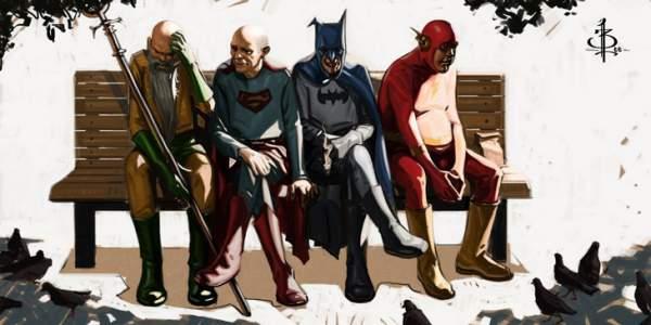 Superhéroes - Jubilar a un personaje
