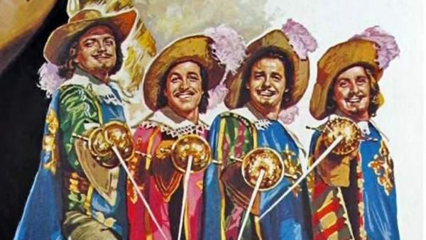 Los Tres Mosqueteros - capa y espada
