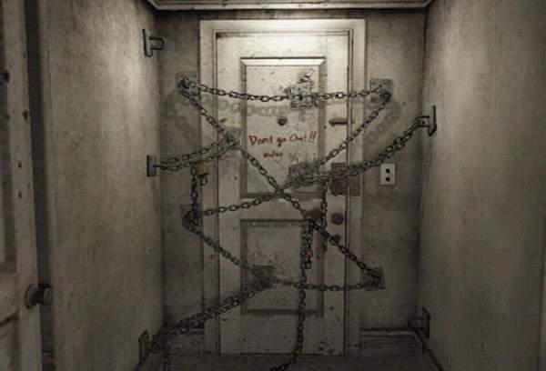 Historias de terror - puerta misteriosa