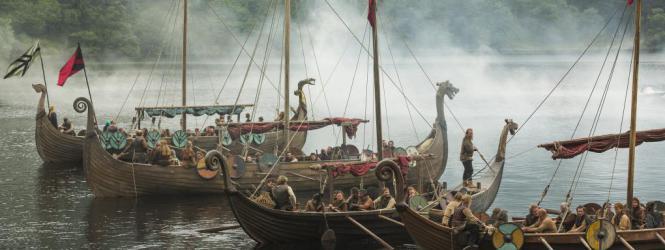 vikingos - barcos