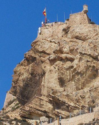 Castillo de Santa Bárbara - Cara del moro