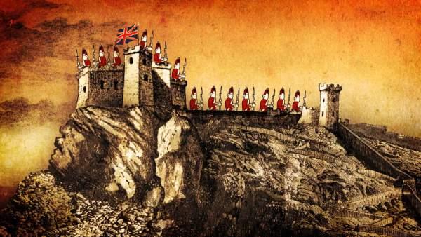 Castillo de Santa Bárbara - ingleses
