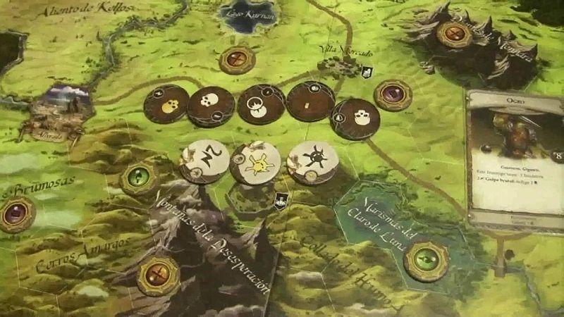 Runebound - tazos