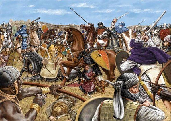 Siete condes - Batalla de Uclés