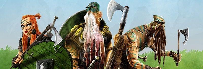 Saqueadores del mar del norte - personajes