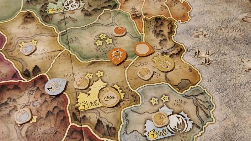 Batalla por Rokugan - fichas