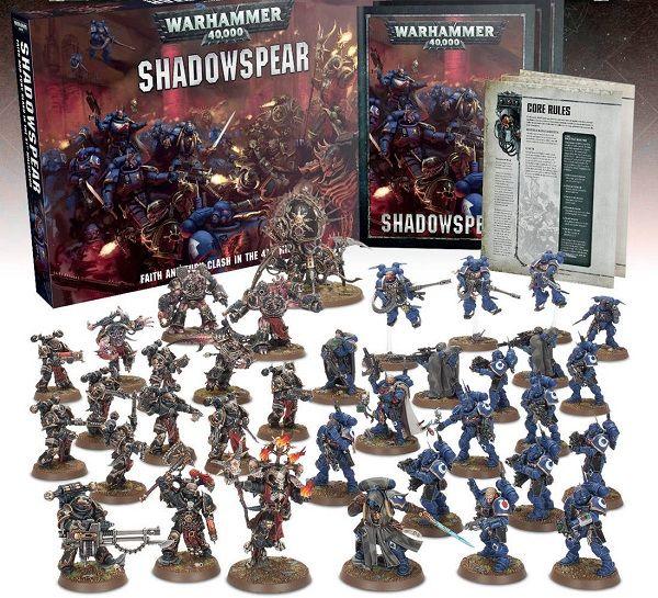 Shadowspear contenido