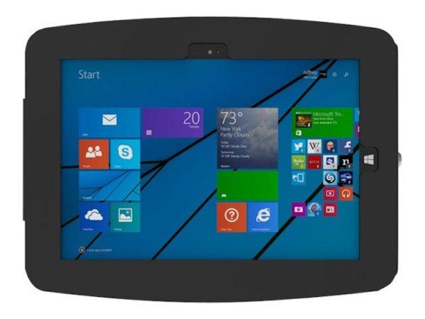 Compulocks Maclocks Surface Pro 3 4 Space Enclosure Wall Mount Black- 540GEB