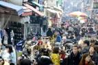 國際市場的街頭攤位