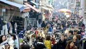 国际市场的街头摊位
