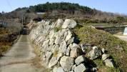 攀登Nishioura Urashiki的石垣