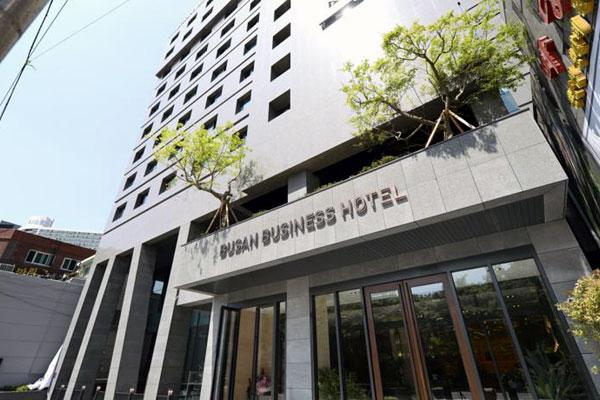 釜山西面に位置する釜山ビジネスホテル