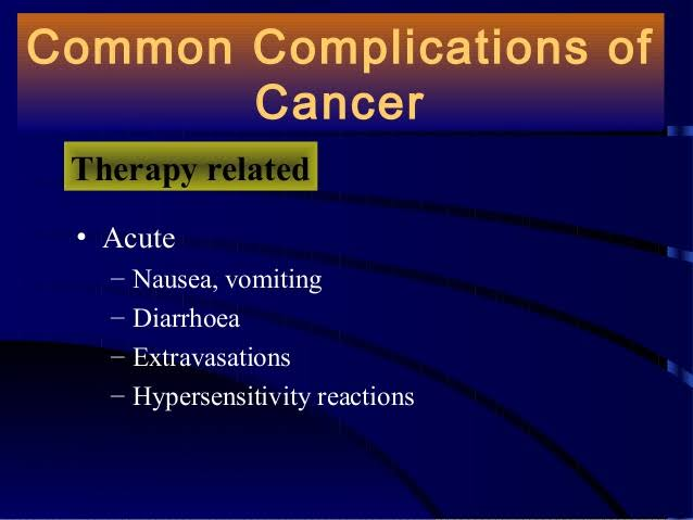 cancer Complications - tabib.pk