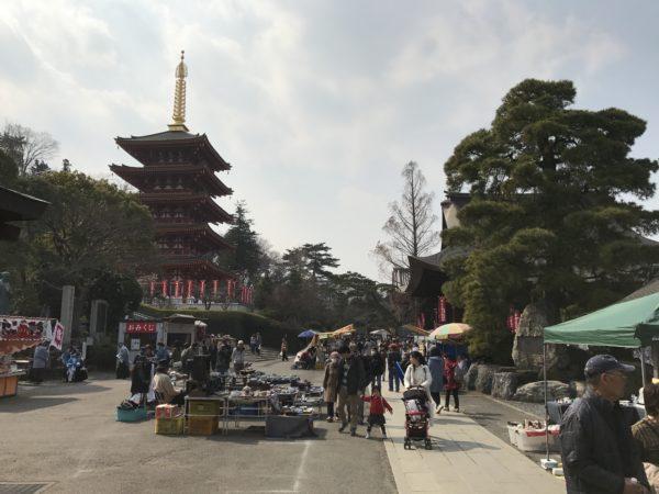 Der Kongō-Tempel in Hino, Tokyo