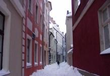 Troksnu-Strasse - eines der schönen Gässchen