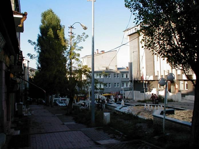In der Innenstadt von Kars, Ostanatolien