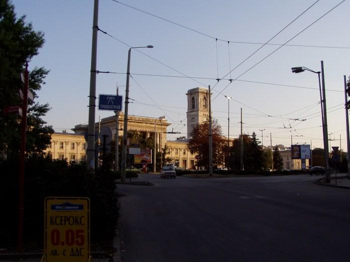 Der Bahnhof von Russe