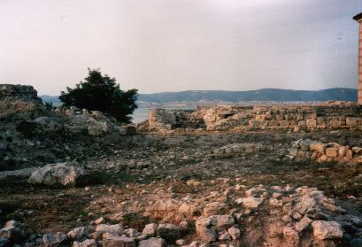 Griechische Ruinen in Alt-Nessebar